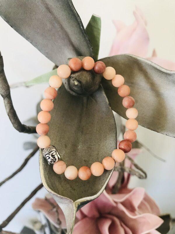 Jade Peach 6mm